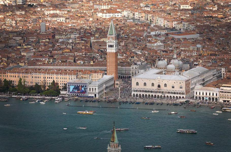 Venice   A moving city