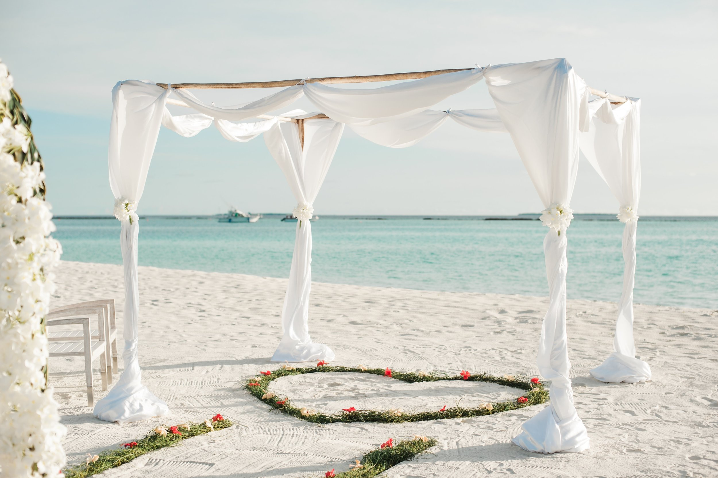 mariage plage corse