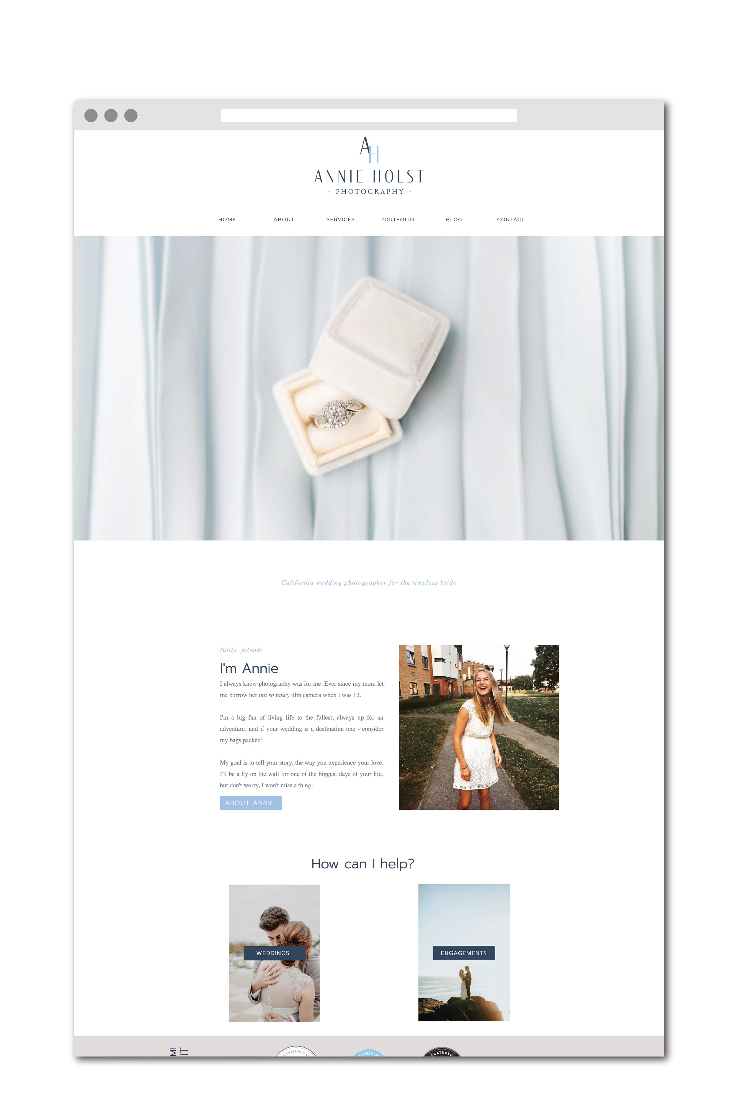 Showit Website
