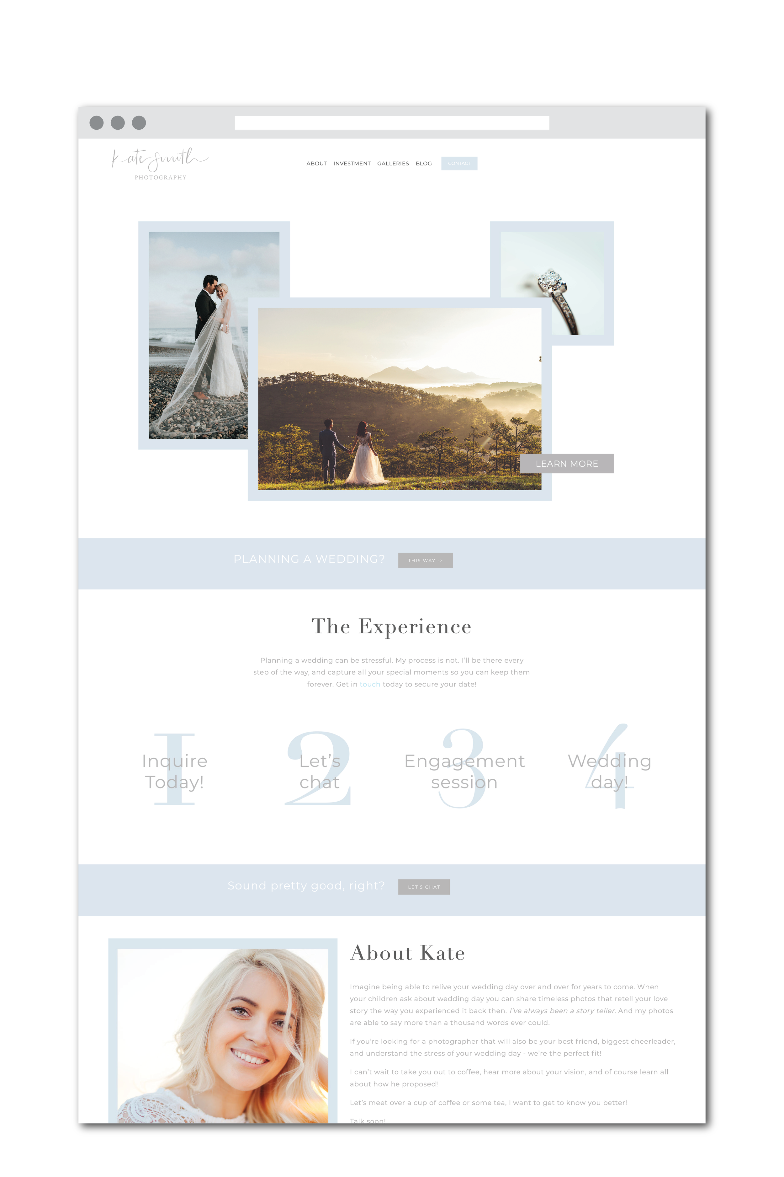 Kate Smith website