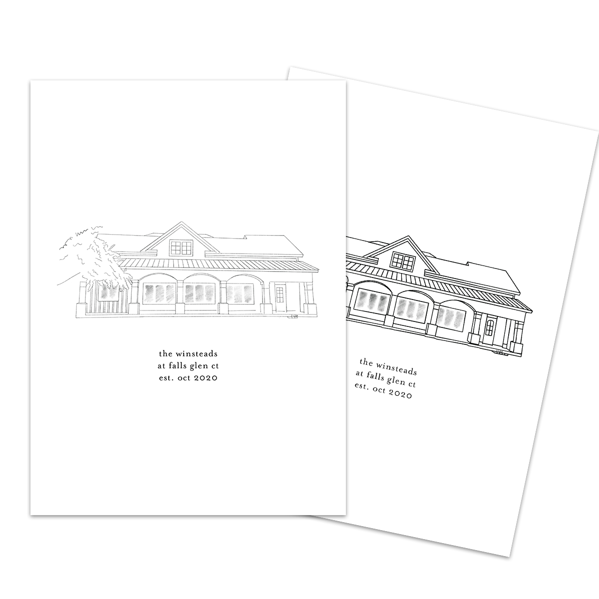 Real estate client gift website photo