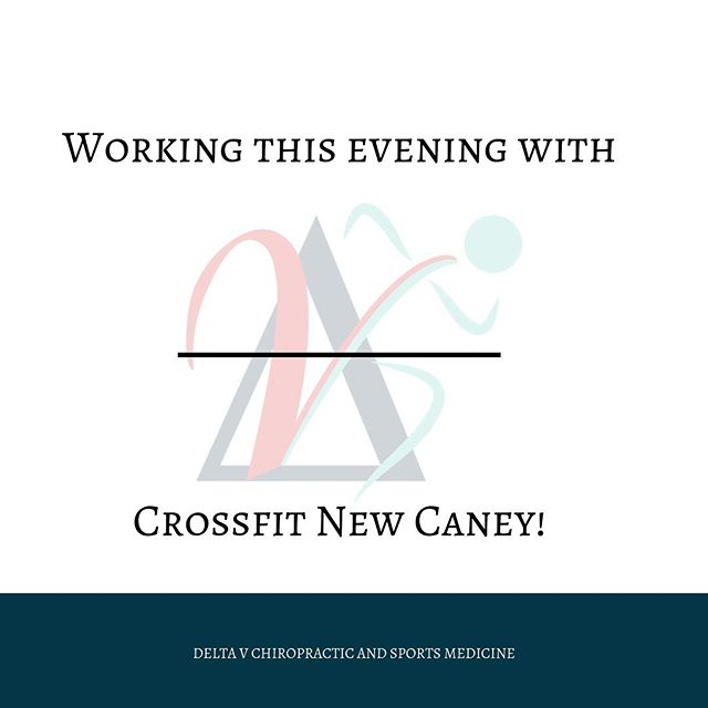 Back at it again tonight! Dr. Harris will be out at @crossfitnewcaney this evening to help with any of the aches, pains, strains and sprains! DM or go online to get your appointment. #recovery #chiropractic #crossfit #fitness #exercise #painfree