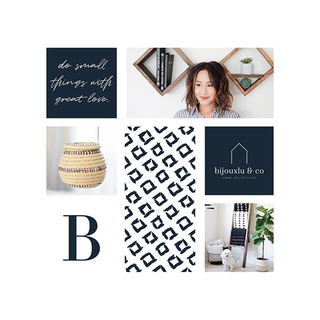 What better way to celebrate #moodboardmonday than by showing off a few of the branding elements used for @bijouxluandco 's rebranding?! 🏡 It has been such a joy working with Luisana! Her passion for her second full time job (mother first!) truly shines through in not only her beautiful decor pieces, but now in her branding too! ❤⠀ ⠀ There is something truly one-of-a-kind about custom brand design... 🎨 not only the design experience itself, but also the results it can bring your business! 🙌🏼 I cannot wait to see where Luisana takes @bijouxluandco . 💕