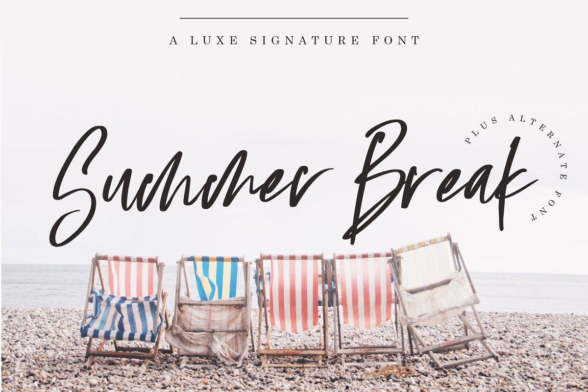 Summer Beach Font