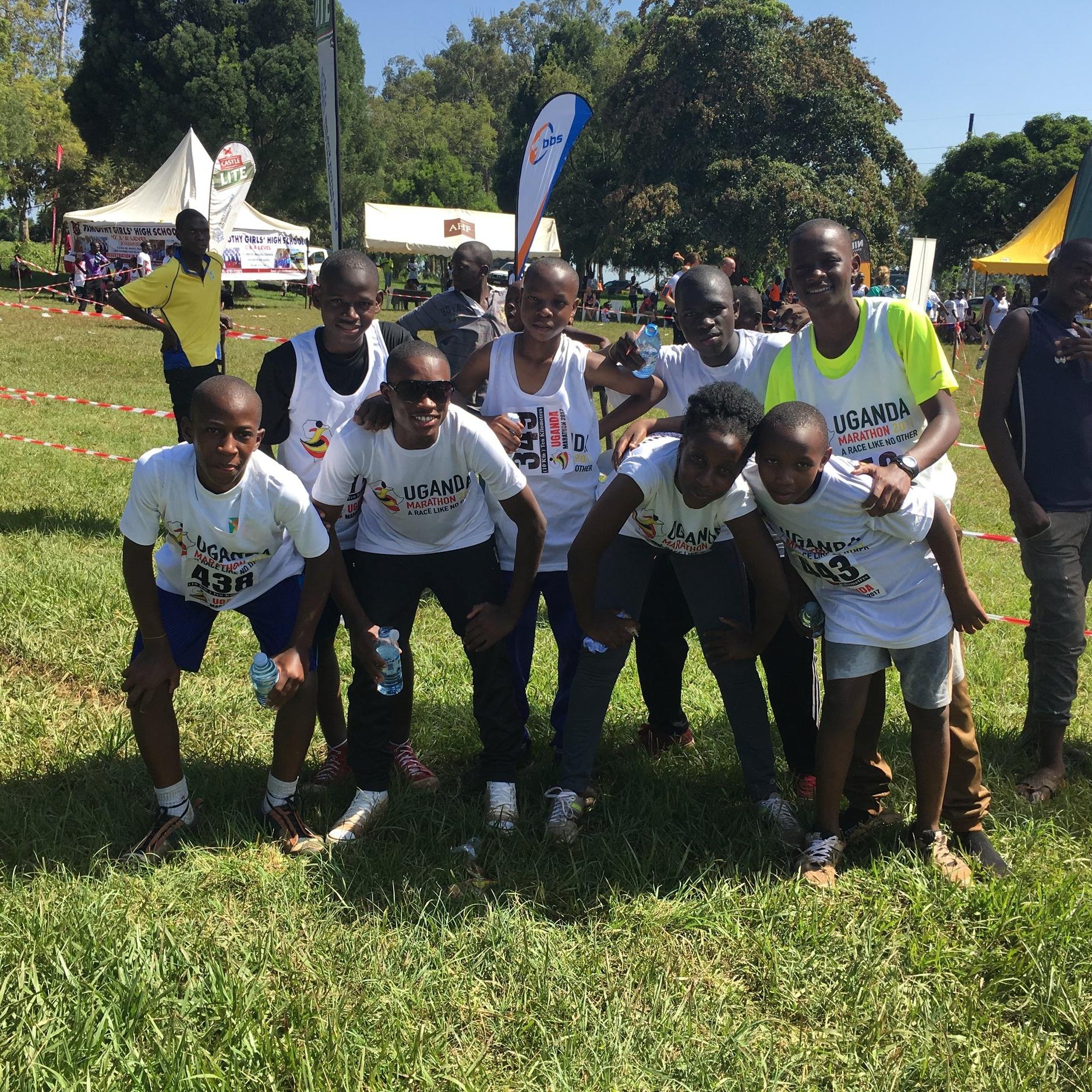 ...participated in two marathons -