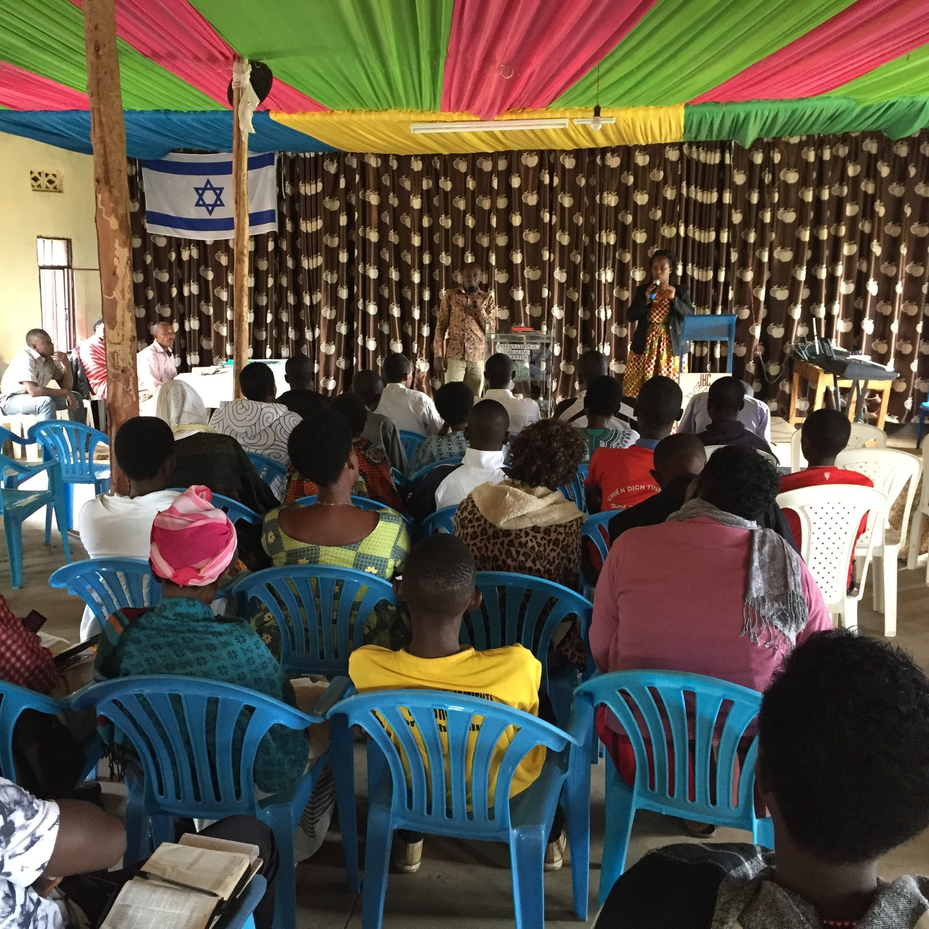 ...opened 40 bible schools in three countries -