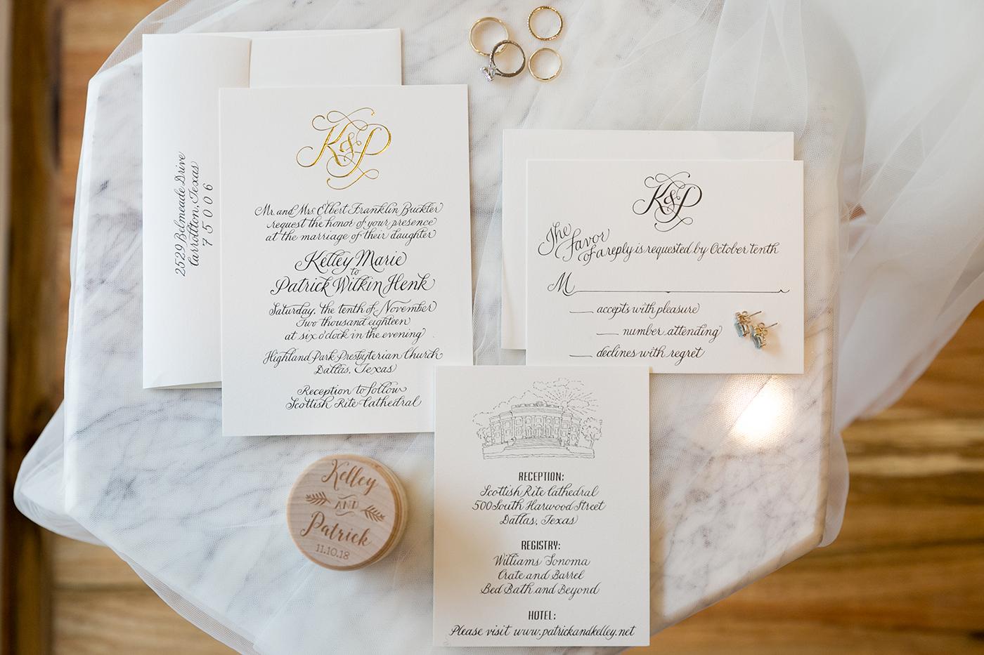 Dallas Wedding Planner - Allday Events - Classic Wedding at Dallas Scottish Rite - 7.jpg