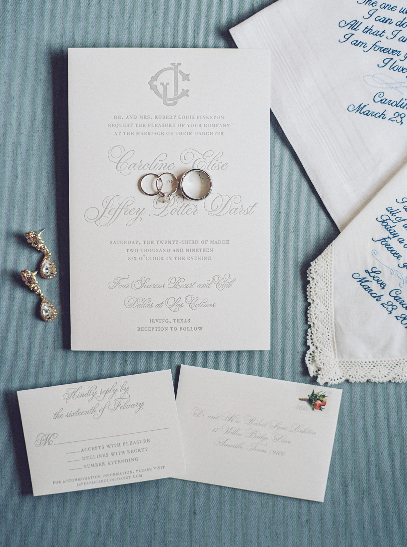 DFW Wedding Planner - Caroline + Jeff at The Four Seasons Hotel Wedding - Allday Events - 2.jpg
