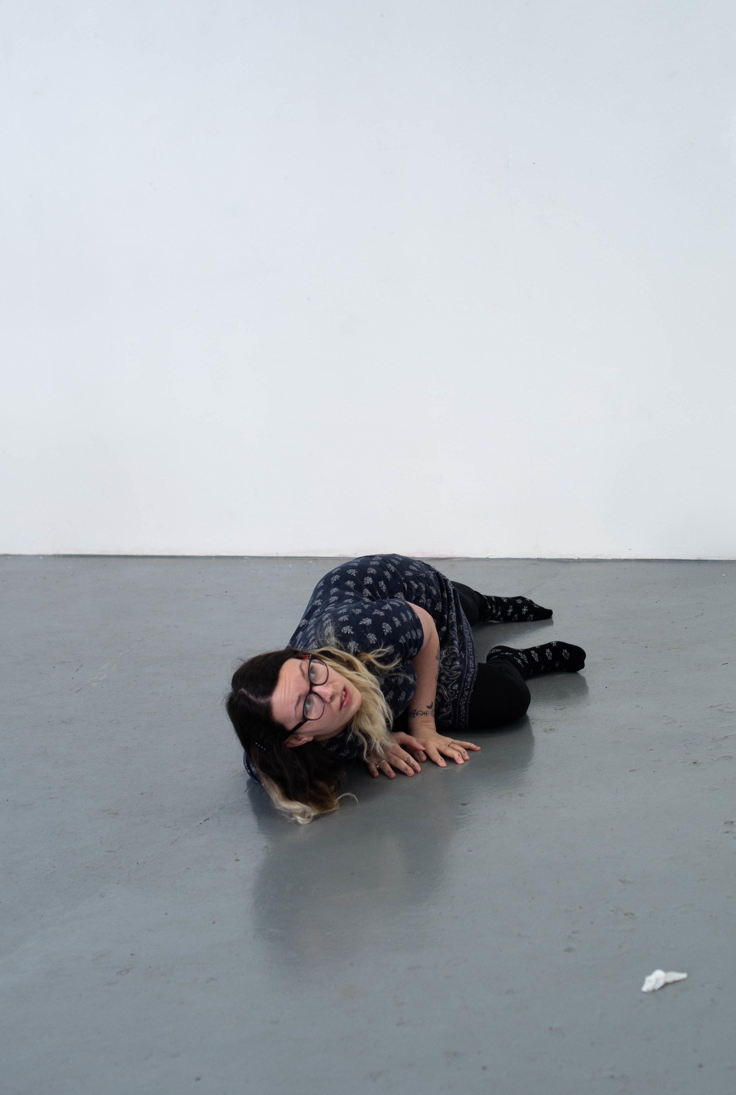 Amy Frost, Performance; The Routine, ©Alice Pool