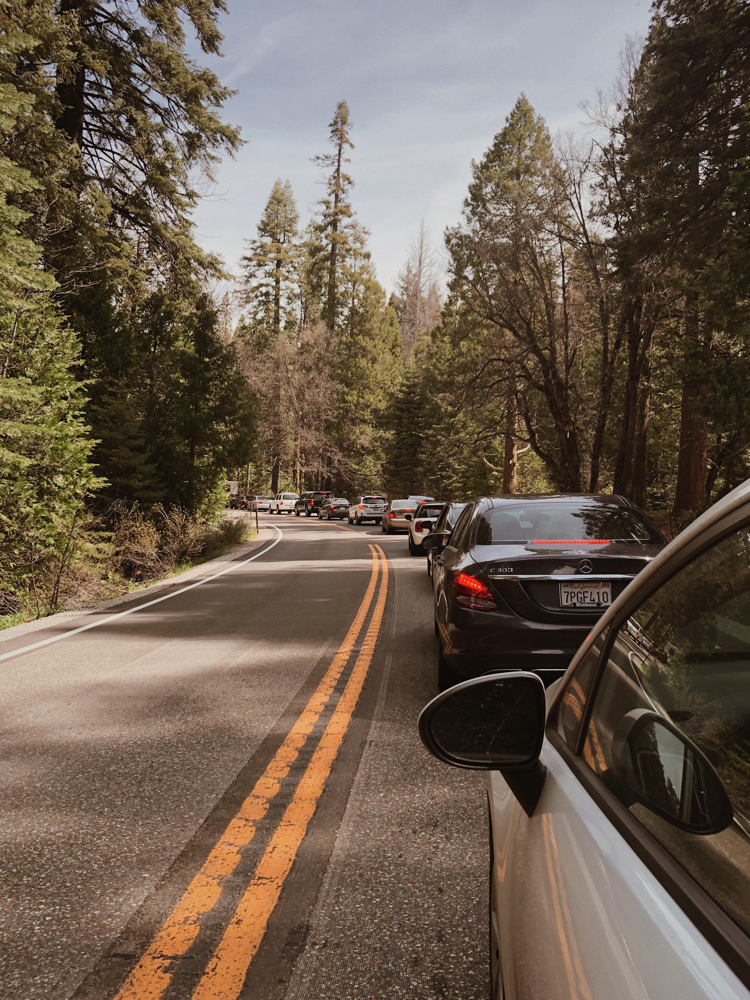 Yosemite Traffic is always fun.