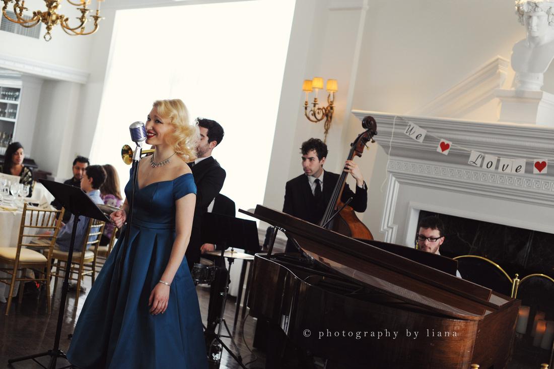 wedding singer, swing dance music