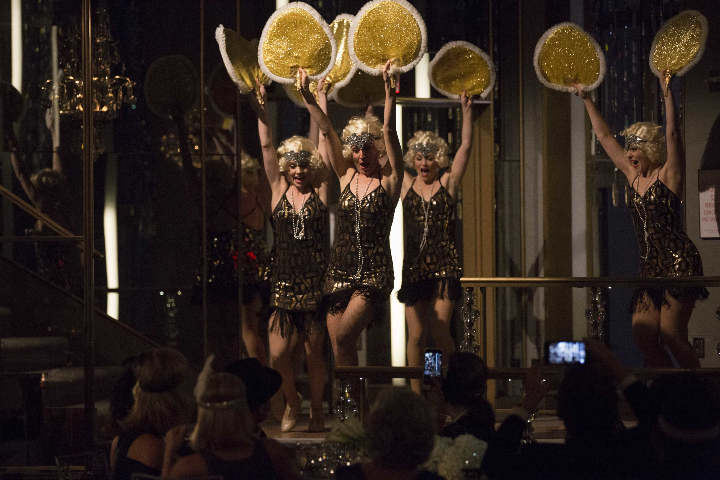 Roaring 20s night with Fleur Seule and dancers at The Rainbow Room!