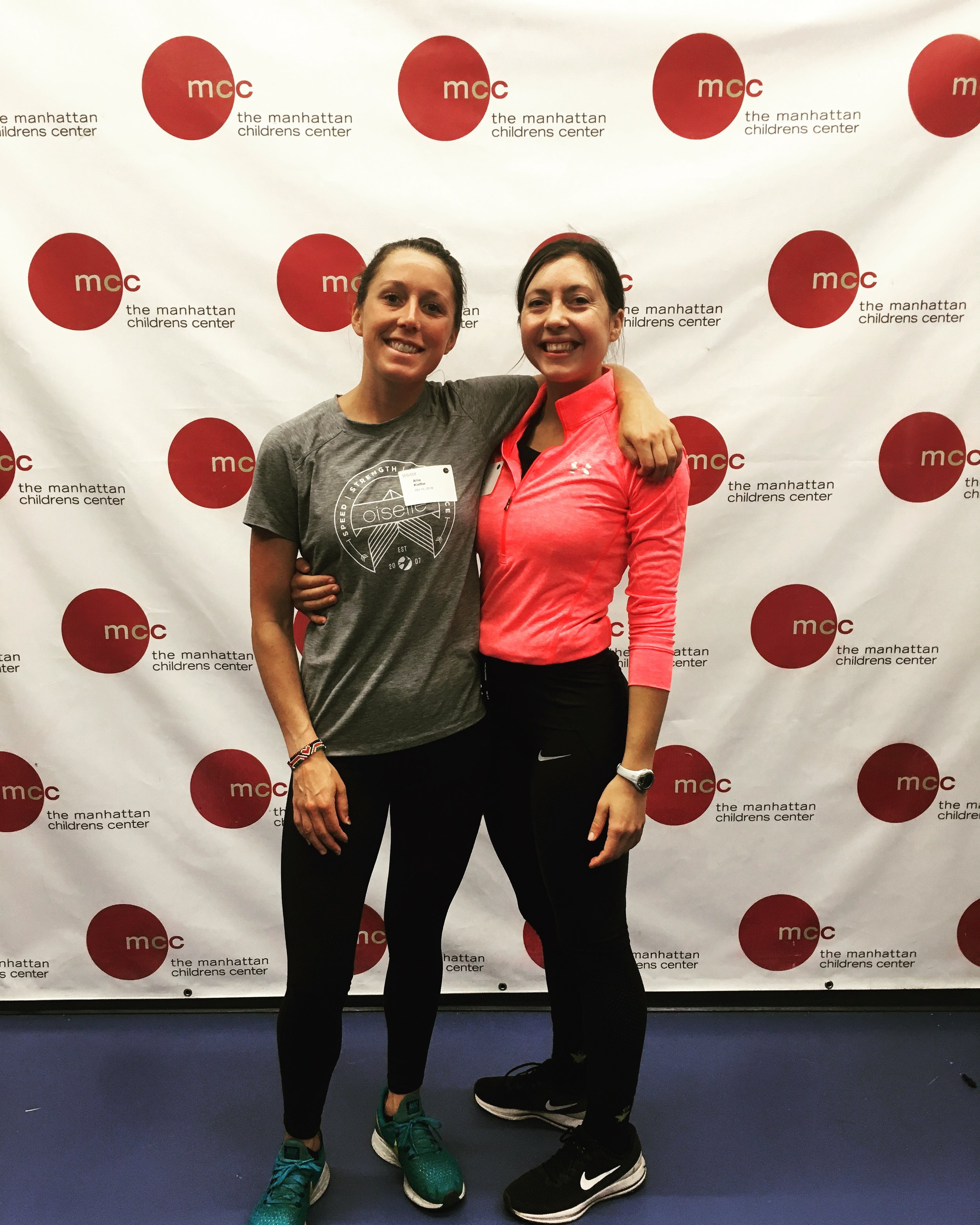 Allie Kieffer visits Fast Feet NYC! - Professional runner Allie Kieffer, former teammate of Suzie Clinchy, and her coach, Brad Hudson, visited a Fast Feet NYC program at Manhattan Childrens Center in October 2018. Allie had won the Staten Inland Half Marathon just a day prior to her visit with us!