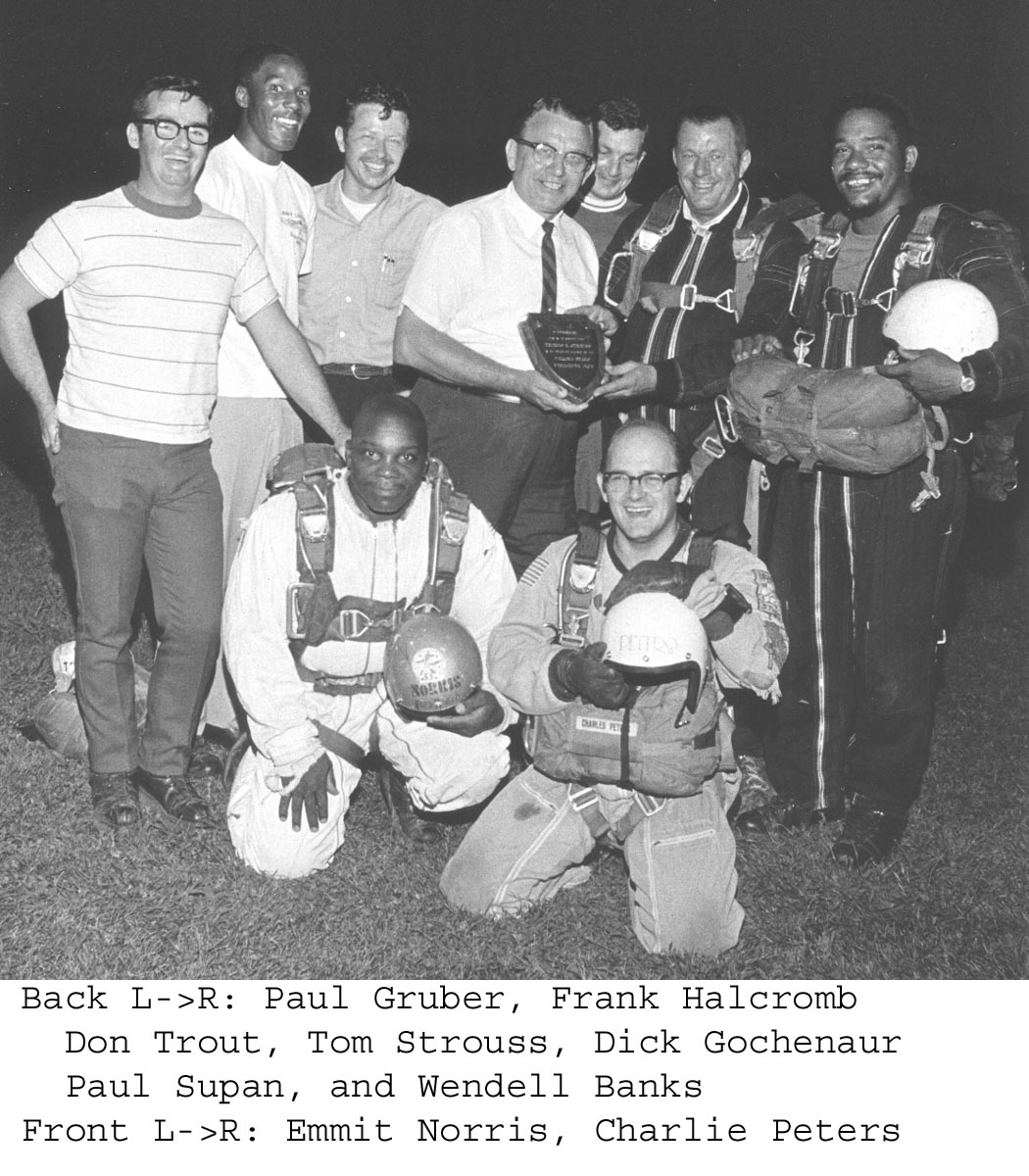 History of maytown sport parachute club
