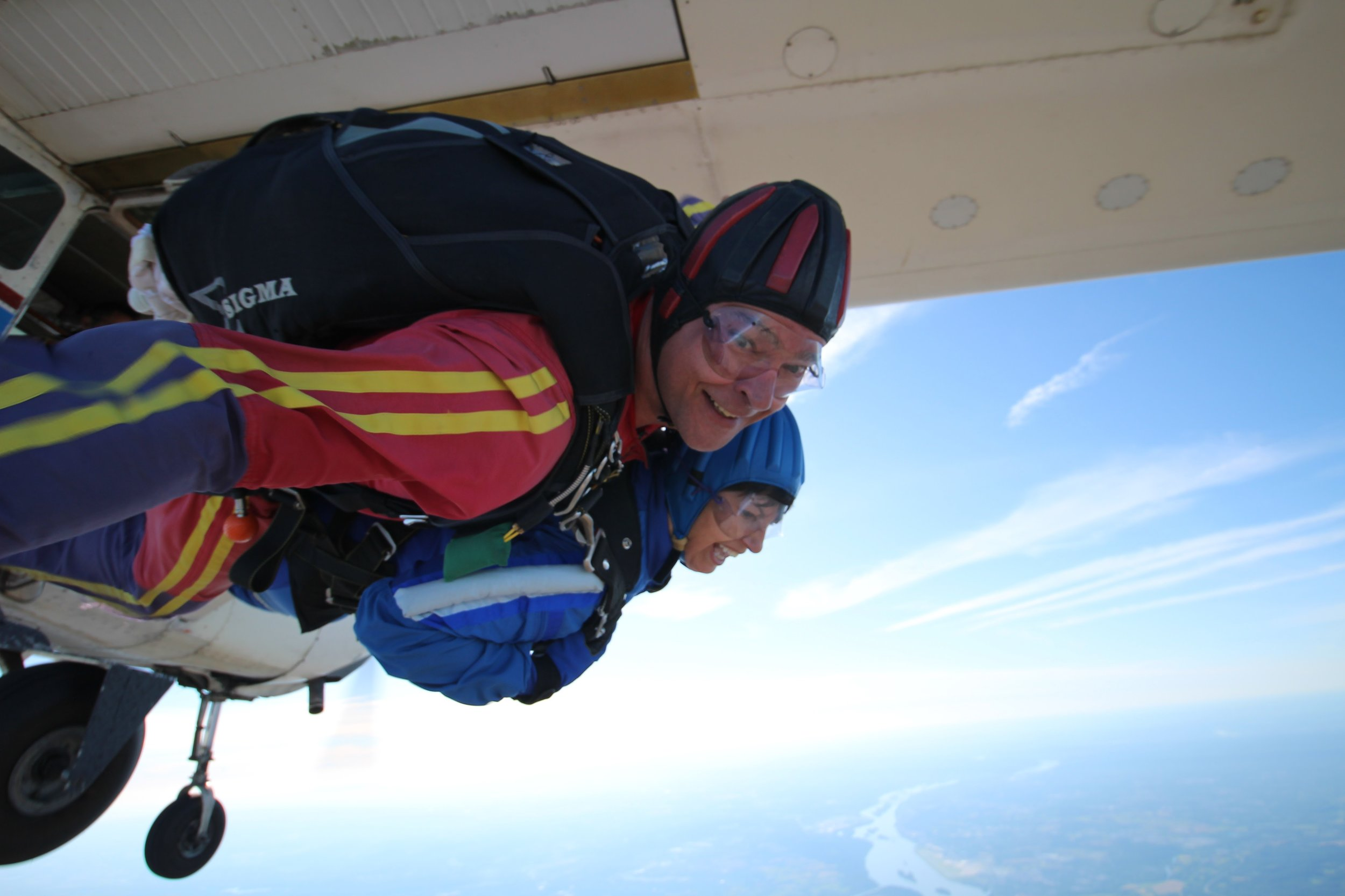 Tandem Skydiving - See central Pennslvania in an entirely new way.