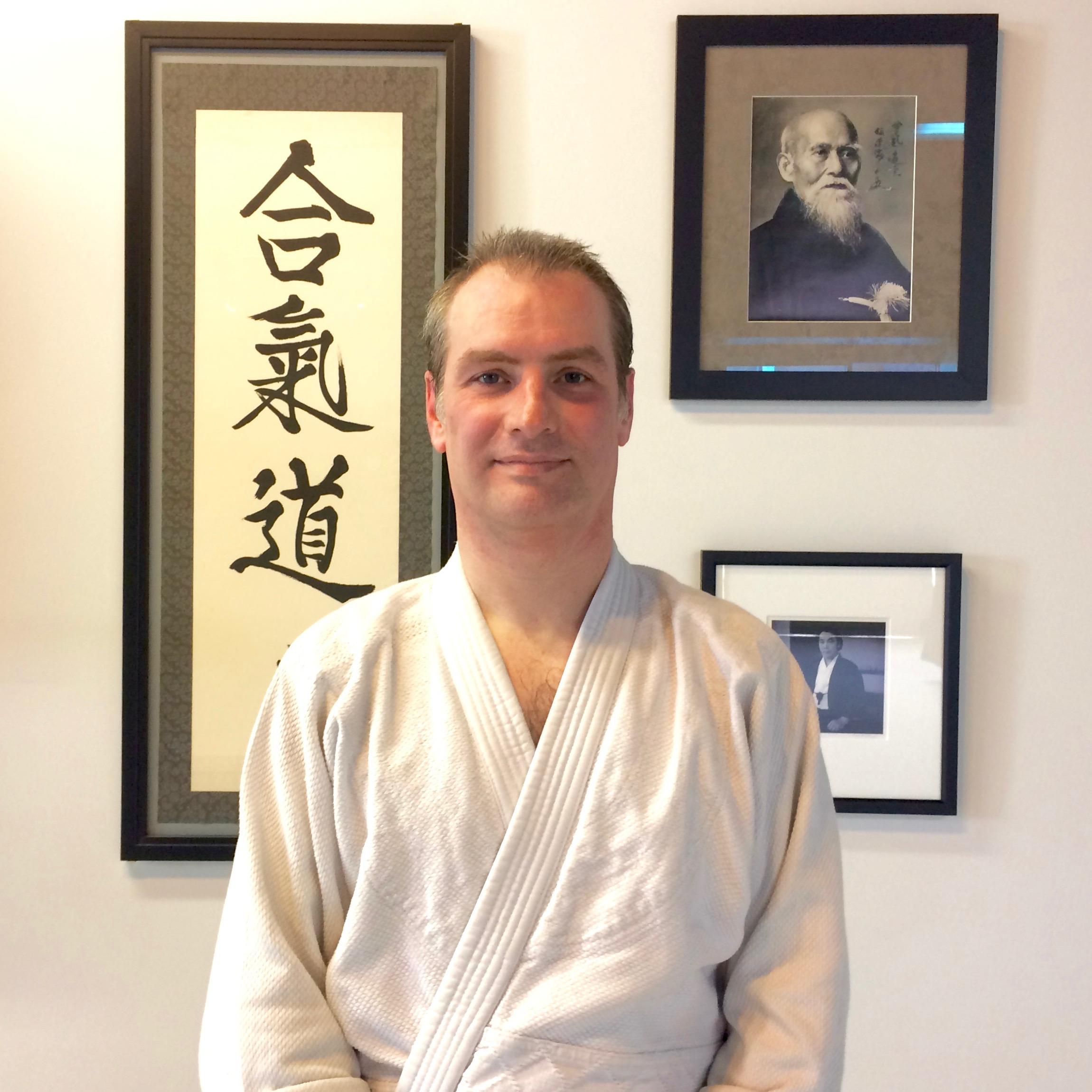 Sean Lent - A high school social studies teacher, Sean came to Portland Aikido in 2012.