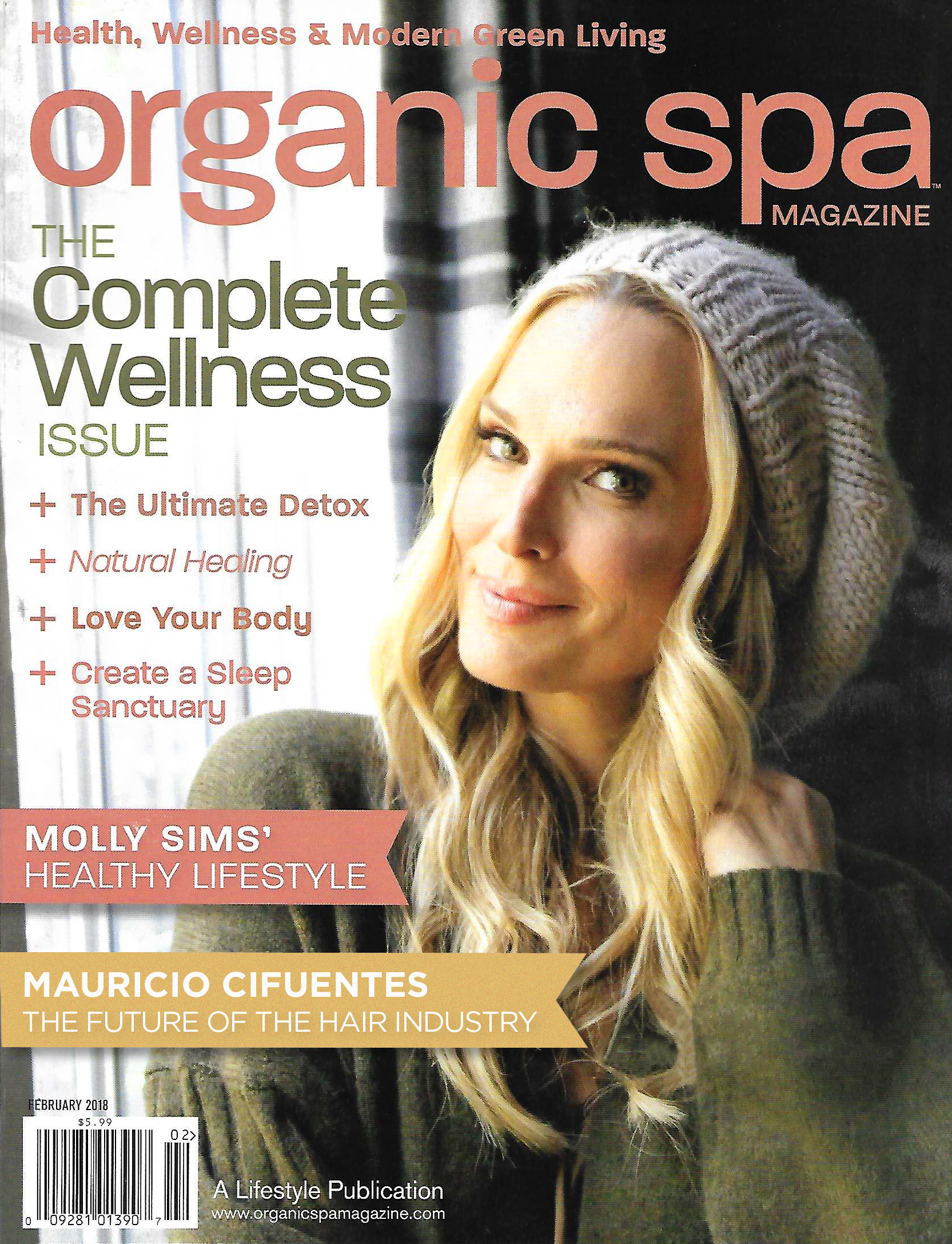 """""""Clean Beauty""""The future of the hair industry - Organic Spa Magazine 2018"""
