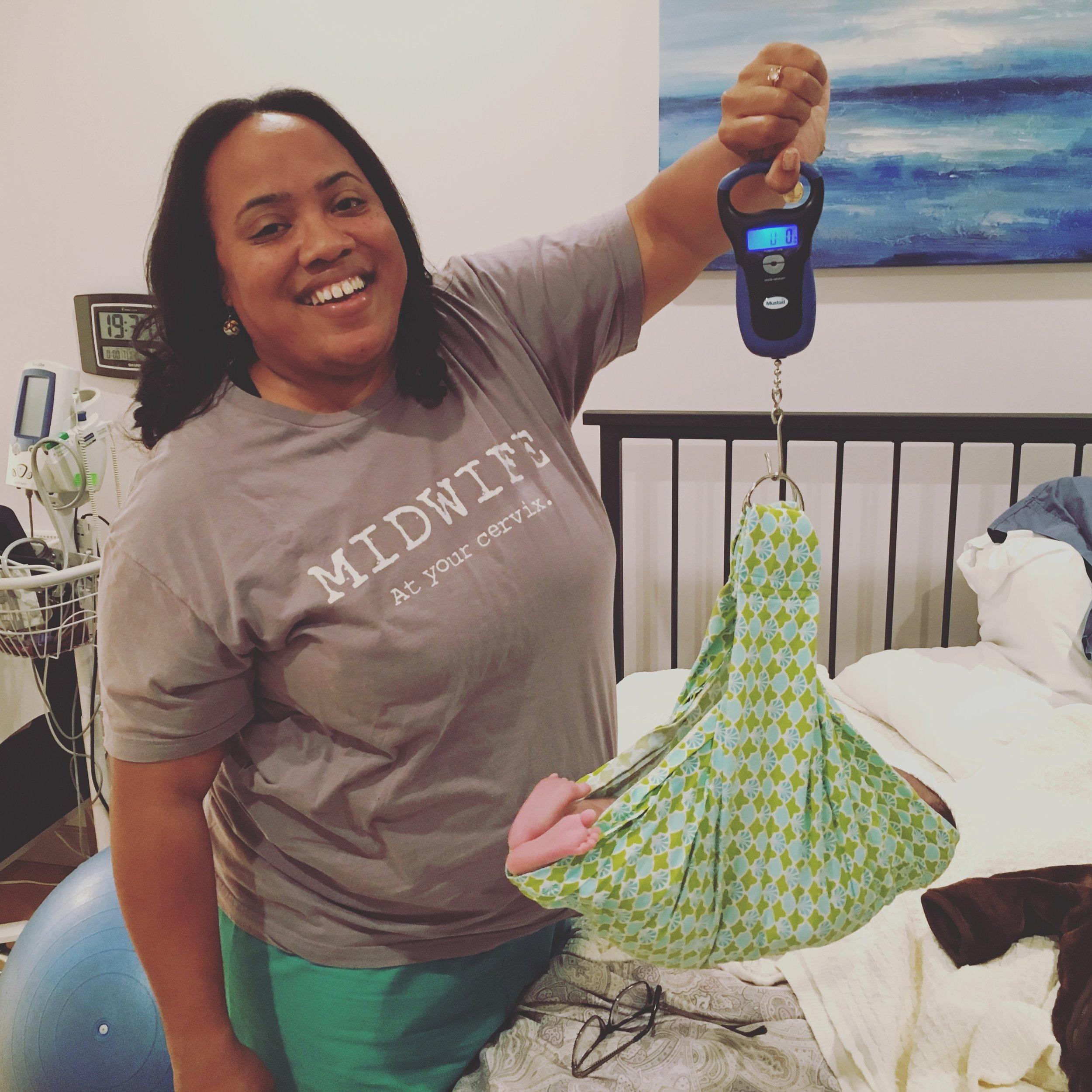 Midwife Ebony Marcelle