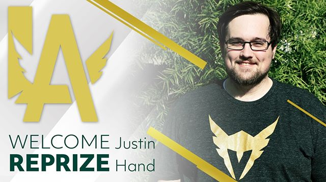 "Hey 7s we've added a new face to our coaching staff, please welcome Assistant Coach Justin ""Reprize"" Hand to our team!  @ReprizeOW we are lucky to have you #WingsOut #WeAre7"