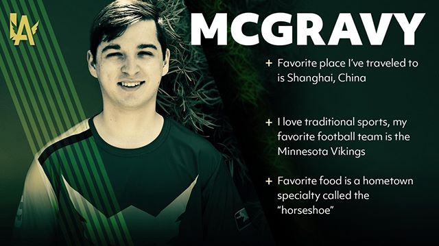 "Not sure about this ""horseshoe"" thing, but we do know we love our @McGravy  See him in person at #TheFinalStand 🎟: LAValiant.com"