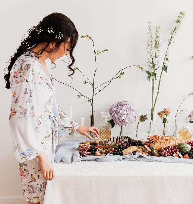 Wedding👏🏻Grazing👏🏻Tables👏🏻 🦋TAG a bride/groom that would LOVE a grazing table on their special day🦋⬇️💫 elopements, cocktail hour, getting ready fuel for your bridal party/groomsmen, bridal showers...the options are ENDLESS💫 🌿🌿🌿🌿🌿🌿🌿 Gushing over these photos from a recent collaborative project with a superstar team✨ check them out!!!⬇️ Creative Direction: @floralandbrick  Venue: @steelcstudio Wedding Planner: @wisdomweddings Photographer: @catchlight_photo Florist: @floralandbrick Decor: @cre8ive_studios Table Scape: @everygoldenmoment Cake: @ali_bakescakes Stationery: @platusicdesign Hair: @demstudioshair Makeup: @costa_chic Robe: @willowfree Dress: @camillaroseboutique Plates: @grans.tea.time Chairs: @special.events.rentals Earrings: @luxecollectionbytof Model: @adriannakoning