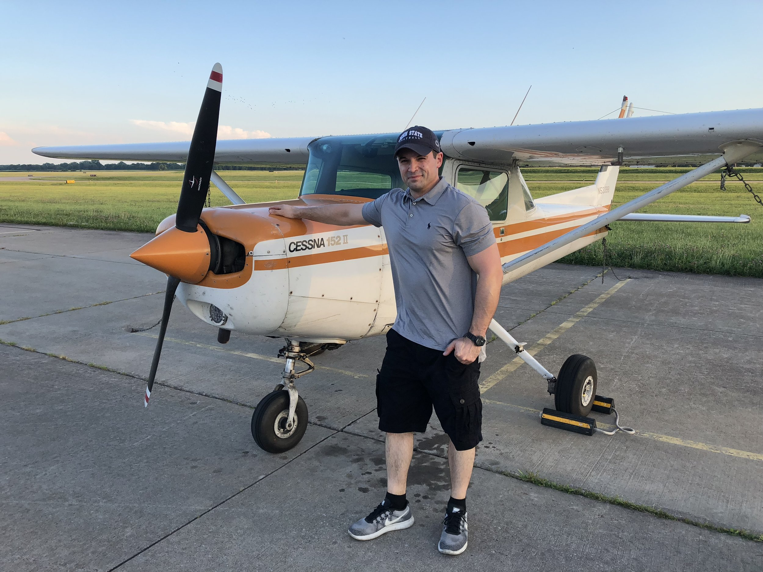 Chad's Solo Flight - 6-23-2018