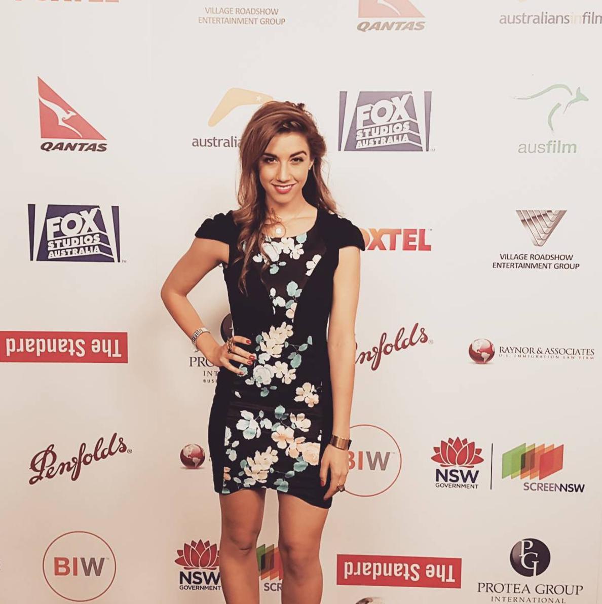 Alexandra Nell Australian's in Film Event (LA) (2016)
