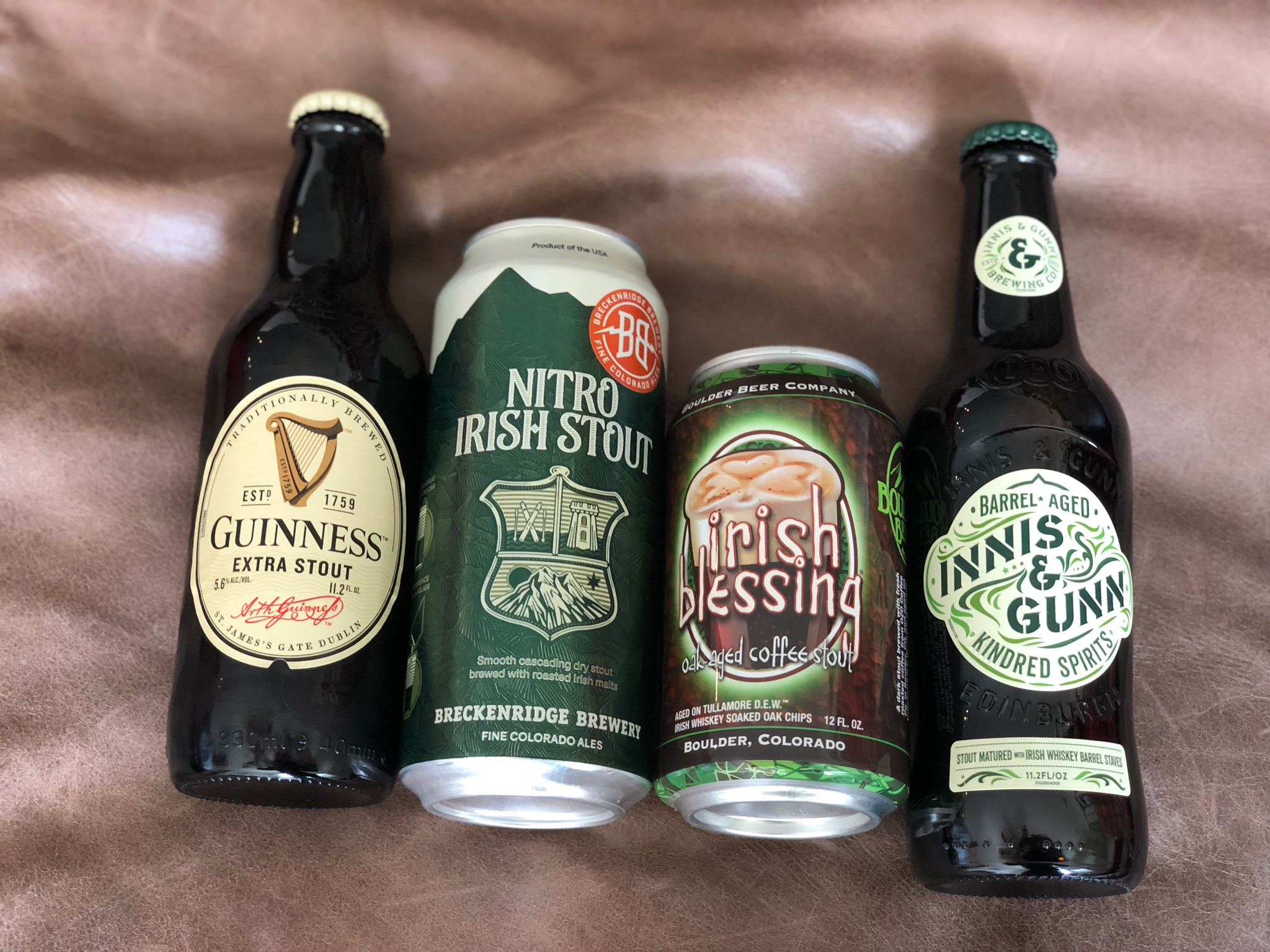If it said Irish, we bought it. Photo by Bob Moffitt