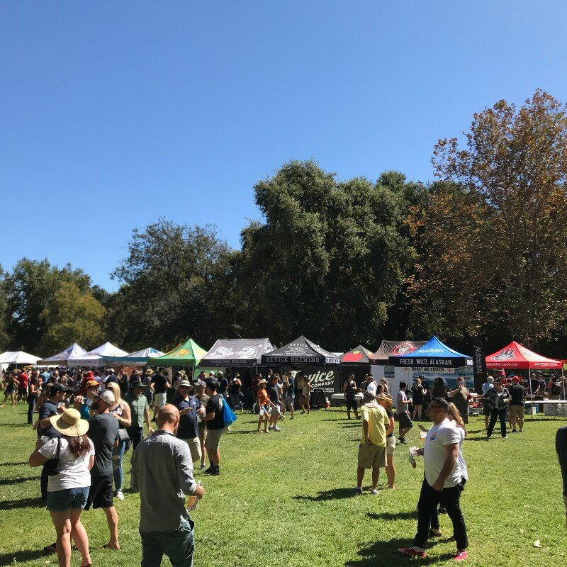 The 25th California Brewers Association Festival did not disappoint, except for the stouts ran out much too quickly. Photo by Bob Moffitt