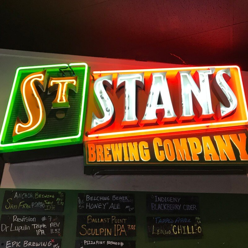 St Stans was a household name once upon a time. The name has been reborn and new beers are on the way in California's San Joaquin Valley. Photo by Bob Moffitt