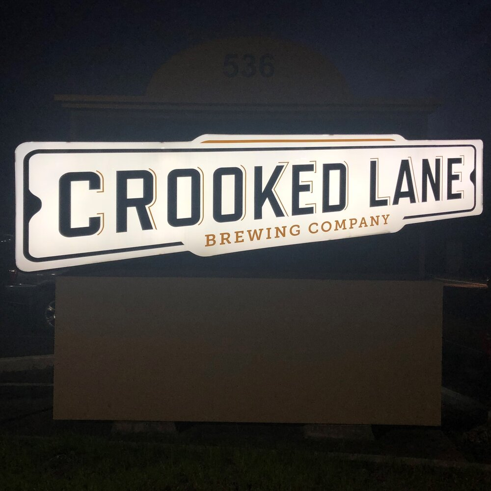 Crooked Lane is on the site of an old theater with Roman roots. The building is now much more hip. The brewery is now delivering anywhere in California. Photo by Bob Moffitt