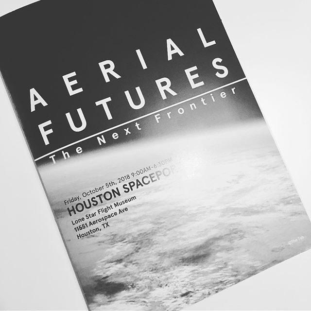 #TBT Throwback to last October- When we were honored to participate at the #houston #spaceport think tank event by #aerialfutures . We talked through many big ideas of r&d spaceports in an urban context. In addition gave a talk about design as it relates t 'space and culture'. Aerial Futures.org continues to do great work and research : Their next event is in Boston 'The Third Dimension' in April.  @plane_site @thegreatgrantsbee