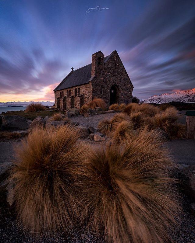 For my first stop on my trip with @wildernessNZ I couldn't resist spending sunset at this church. 😆 ⠀⠀⠀⠀⠀⠀⠀⠀⠀⠀⠀⠀⠀⠀⠀⠀⠀⠀⠀⠀⠀⠀⠀⠀⠀⠀⠀⠀⠀ ⠀⠀⠀⠀⠀⠀⠀⠀⠀⠀⠀⠀⠀⠀⠀⠀⠀ -------------------------------------------- Shot with:  @Canonaustralia 6D  Canon 16-35 f/2.8 ii  @nisifiltersaustralia landscape cpl NiSi 10 stop ND NiSi 3 stop reverse grad @siruiaustraliaW-2204 Tripod with K-30x Ball Head --------------------------------------------- ⠀⠀⠀⠀⠀⠀⠀⠀⠀⠀⠀⠀⠀⠀⠀⠀⠀⠀⠀⠀⠀⠀⠀⠀⠀⠀⠀⠀⠀⠀⠀⠀⠀⠀⠀⠀⠀⠀⠀⠀⠀ #wildernessnz #sponsored #purenewzealnd #kiwiphotos #destinationnz #newzealandguide #ignewzealand #earth_deluxe #ig_today #huffpostgram #newzealandvacations #canonnz #Exploringtheglobe #bestworldpics #phenomenalshot  #splendid_shotz  #purenz #earthpix  #ig_bliss #earthpics #amazing_captures #main_vision  #canonaustralia #canon_photos #igrefined  #global_hotshotz #bestnatureshots #igpowerclub #igphotoworld #longexposure_shots