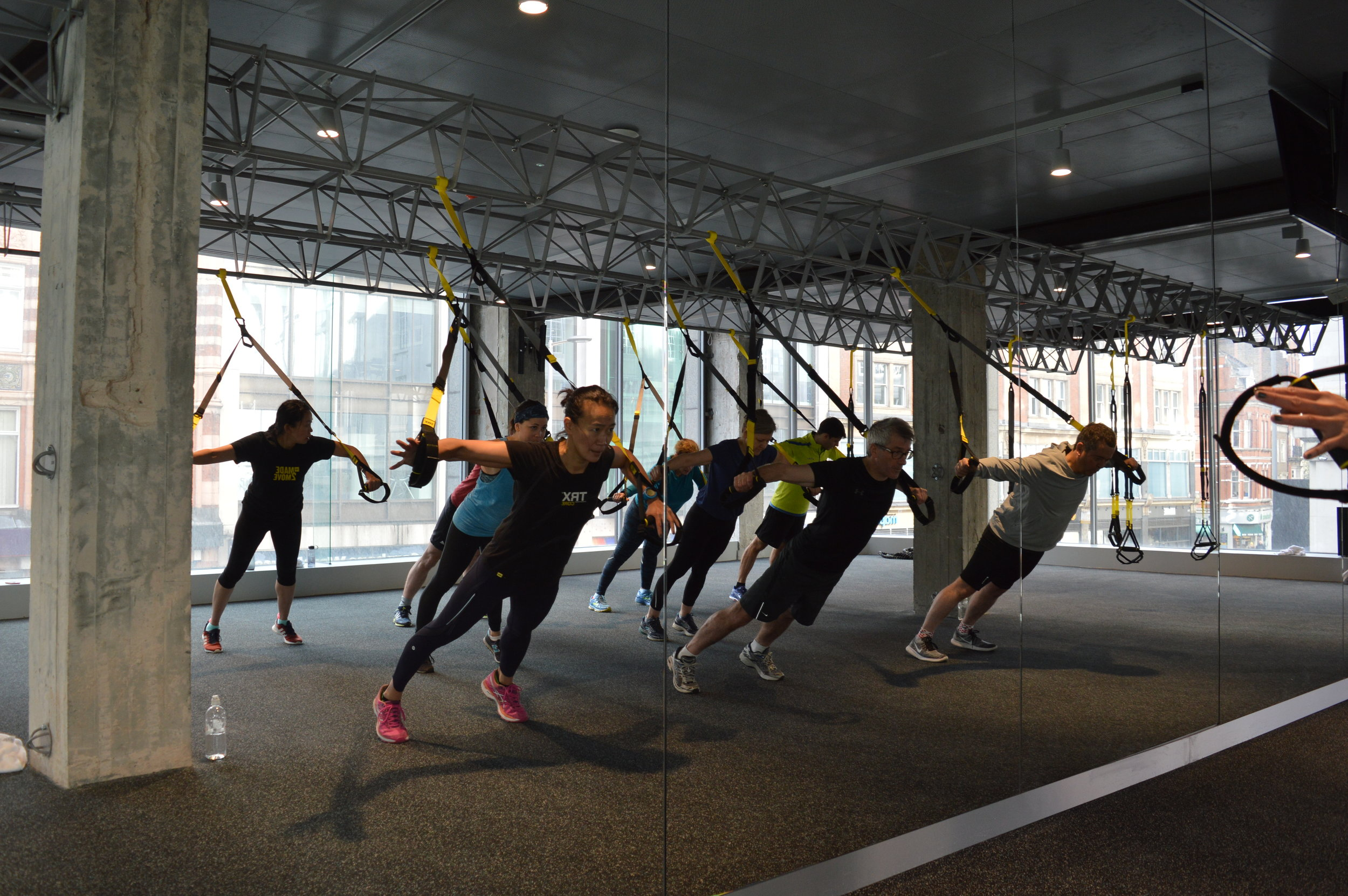 TRX BLACK & YELLOW HIGHEST RANK COACH & COURSE INSTRUCTOR - For the last 5 years Frances has devoted significant time to training with the TRX Education team in the US and has risen to become one of the most highly qualified TRX coaches in the world.