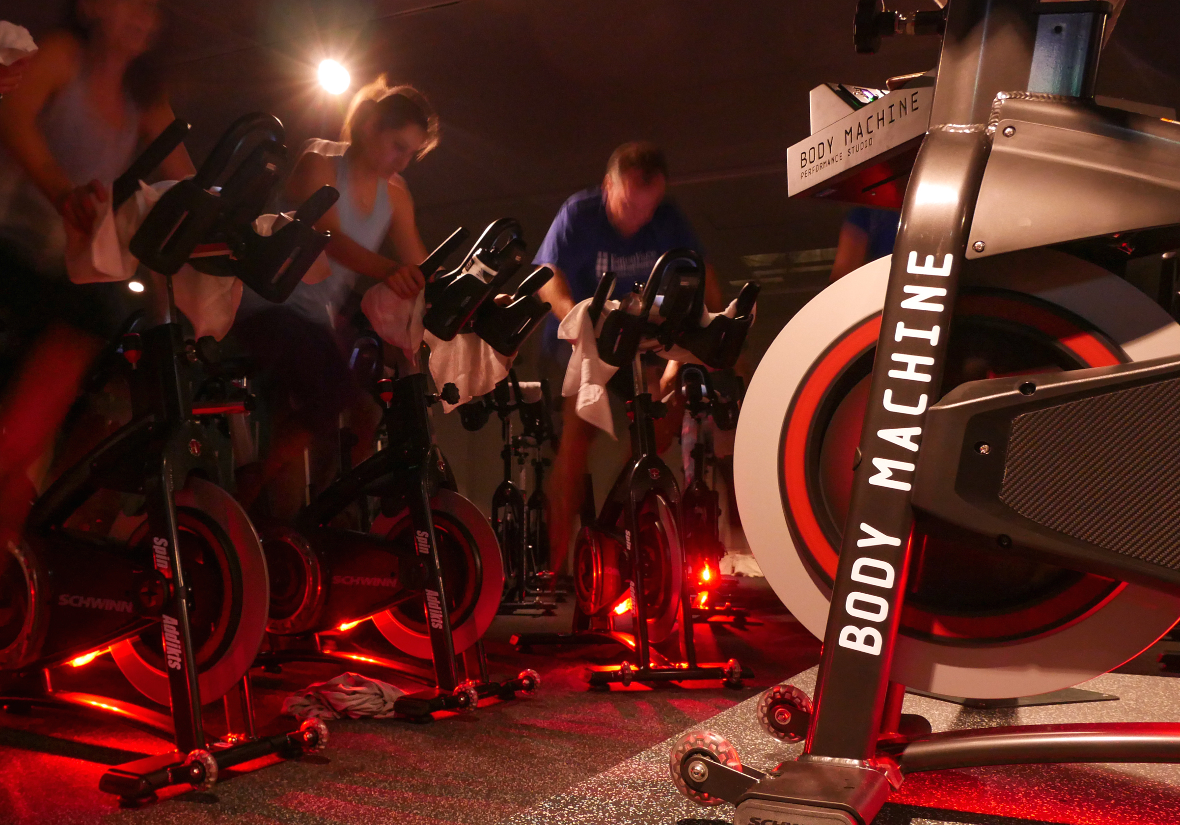 SpinAddikts Indoor Cycling Classes at Body Machine Performance Studio