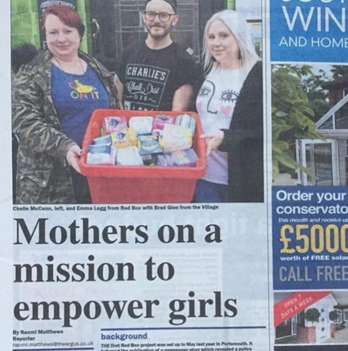 Fighting Period Poverty - The Red Box Project - The-Argus.jpg