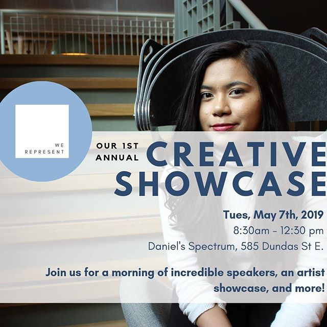 Happy Monday IG! We're inviting YOU to our Showcase on Tuesday May 7th! Deets in our bio - early bird tickets are on sale now! 🔥 - Join us for a morning of incredible speakers, a panel of rising leaders, and of course a creative showcase of our finalists' work! Hit that link in our bio, we'll see you there! 💯👊🏽