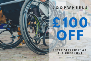 Click on this image to go Straight to the loopwheels website and Enter Our unique Code at the checkout.