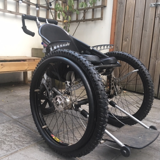 Trekinetic K2 - All Terrain Manual Wheelchair (Item 1002) 1.JPG