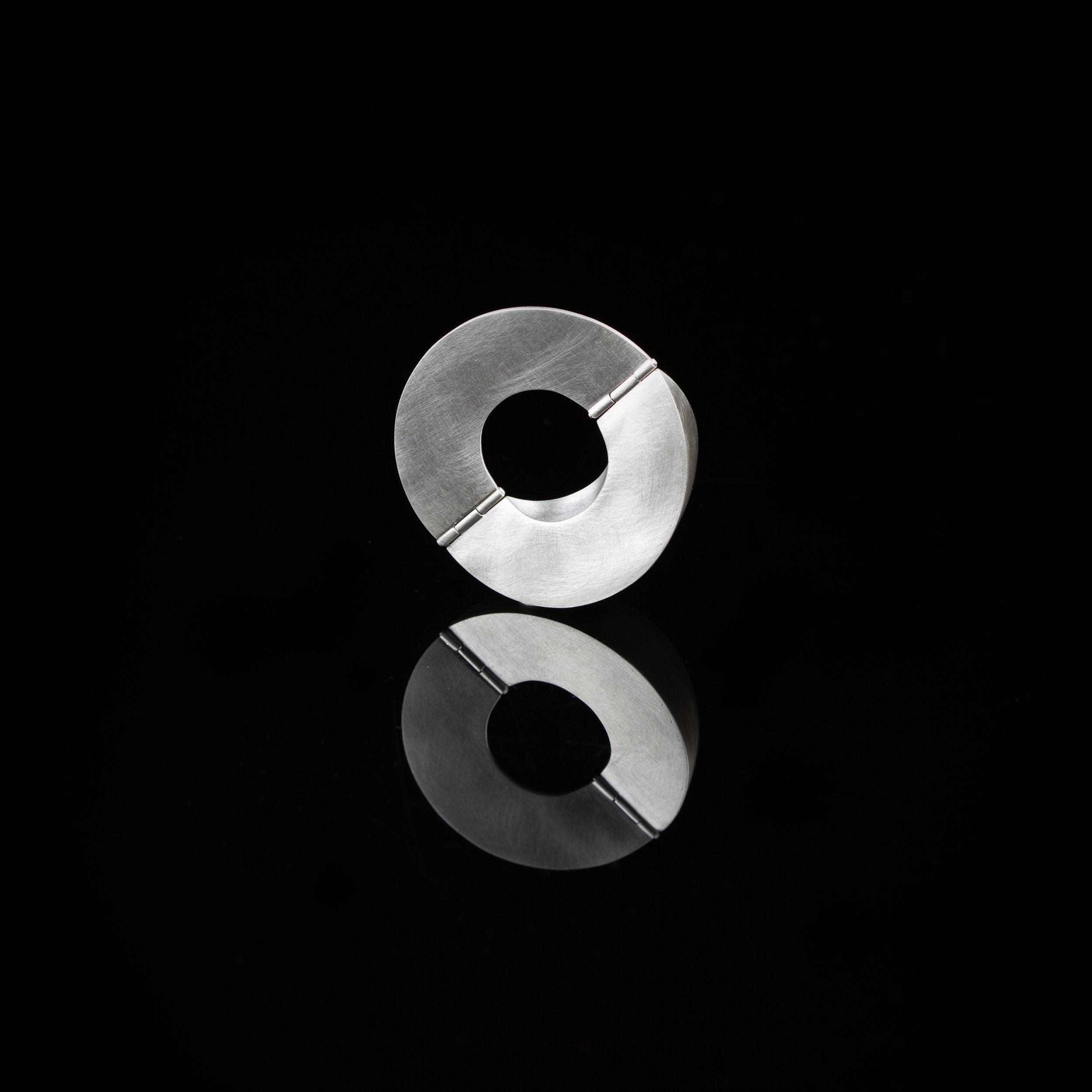 Curious Constructions | Pendant   Sterling Silver |4.3 x 4.3 x 1.6 cm