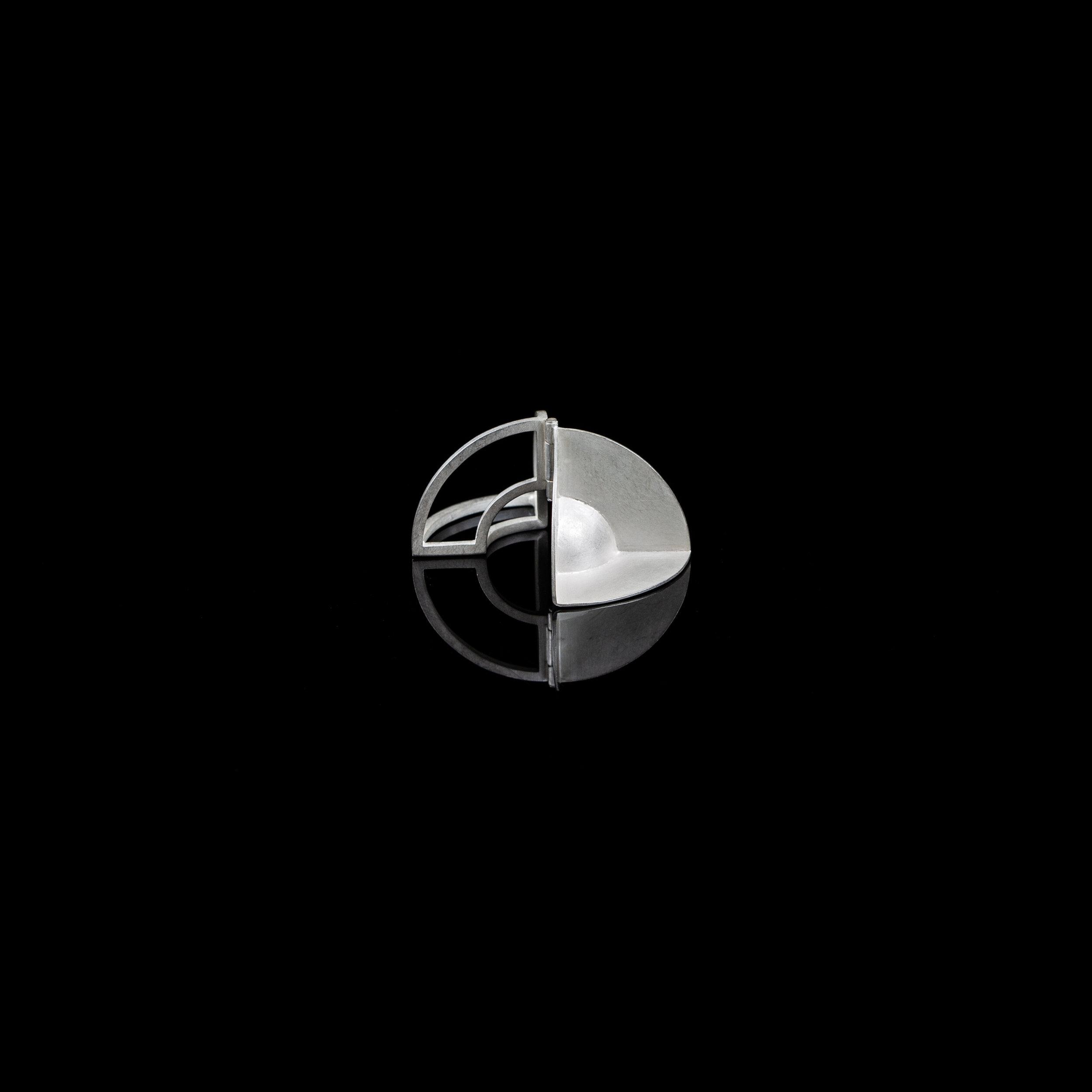 Curious Constructions | Pendant   Sterling Silver |4.2 x 2.1 x 2.1 cm