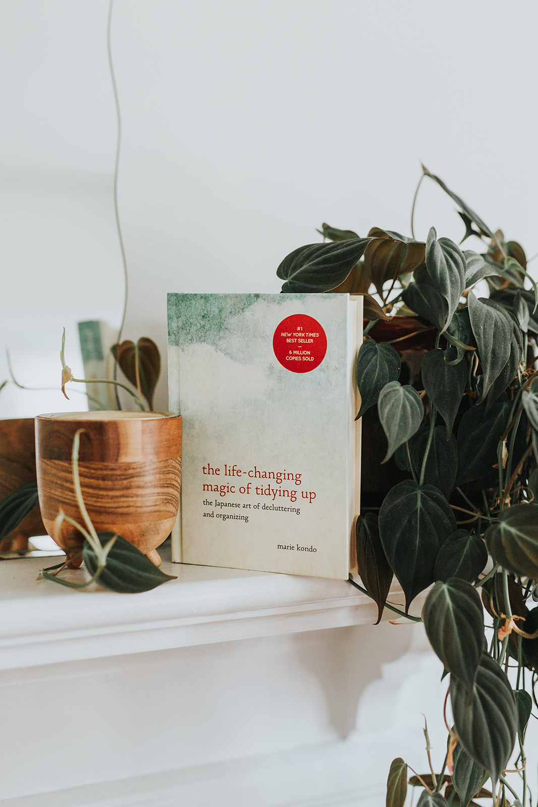 Marie Kondo's first book, the international bestseller  The Life-Changing Magic of Tidying Up . This book explains her revolutionary home organization method, The KonMari Method.