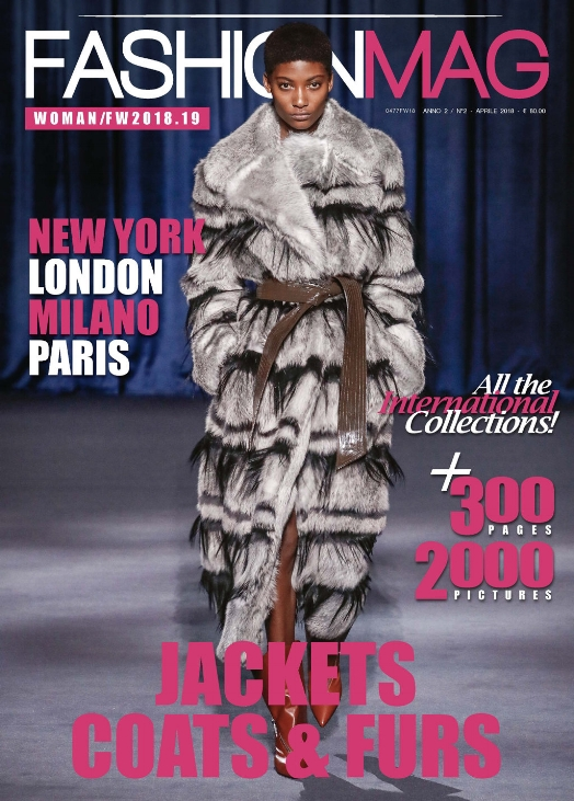 Fashion Mag May 2018. Coat is from Givenchy.