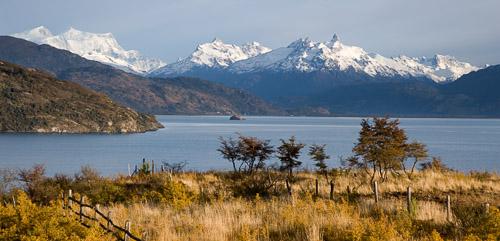 Lago General Carrera, Glacial peaks
