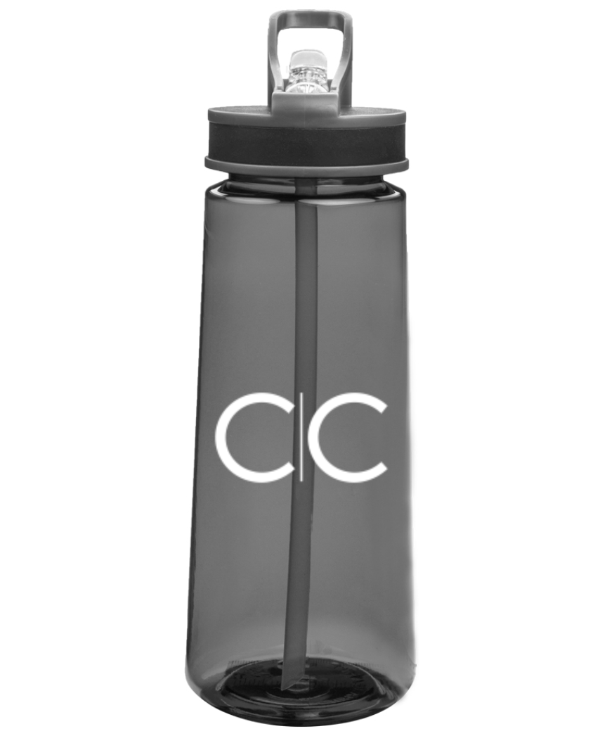 CC Water Bottle (Black)  $10.00