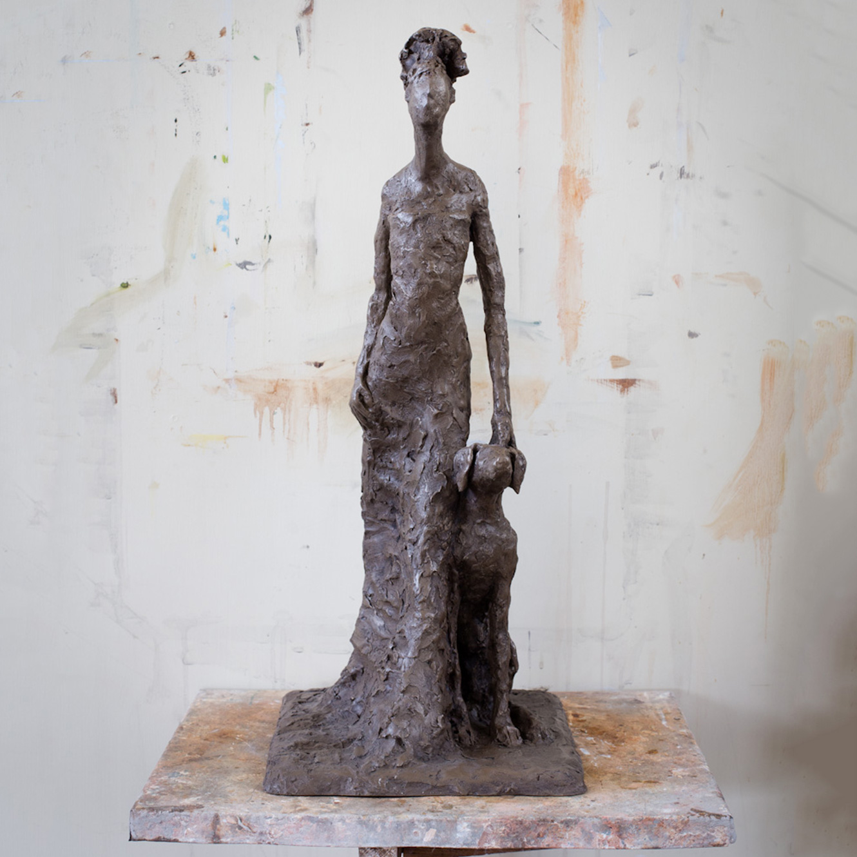 Diana (55x25cm. Bronze Resin.)