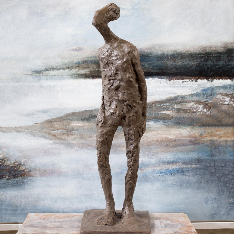 Hoenir (60x22cm. Bronze Resin.)