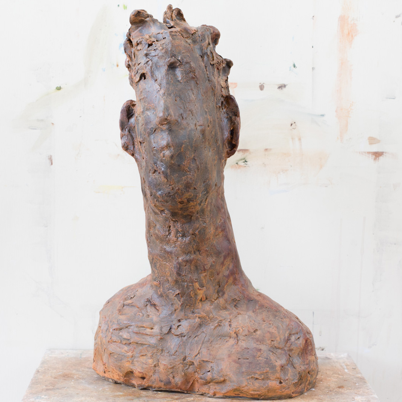 Caspian (45x28cm. Iron Resin.)