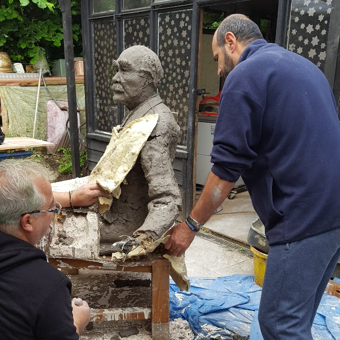 18. Removing the mould.  Next stop Athens!.jpg