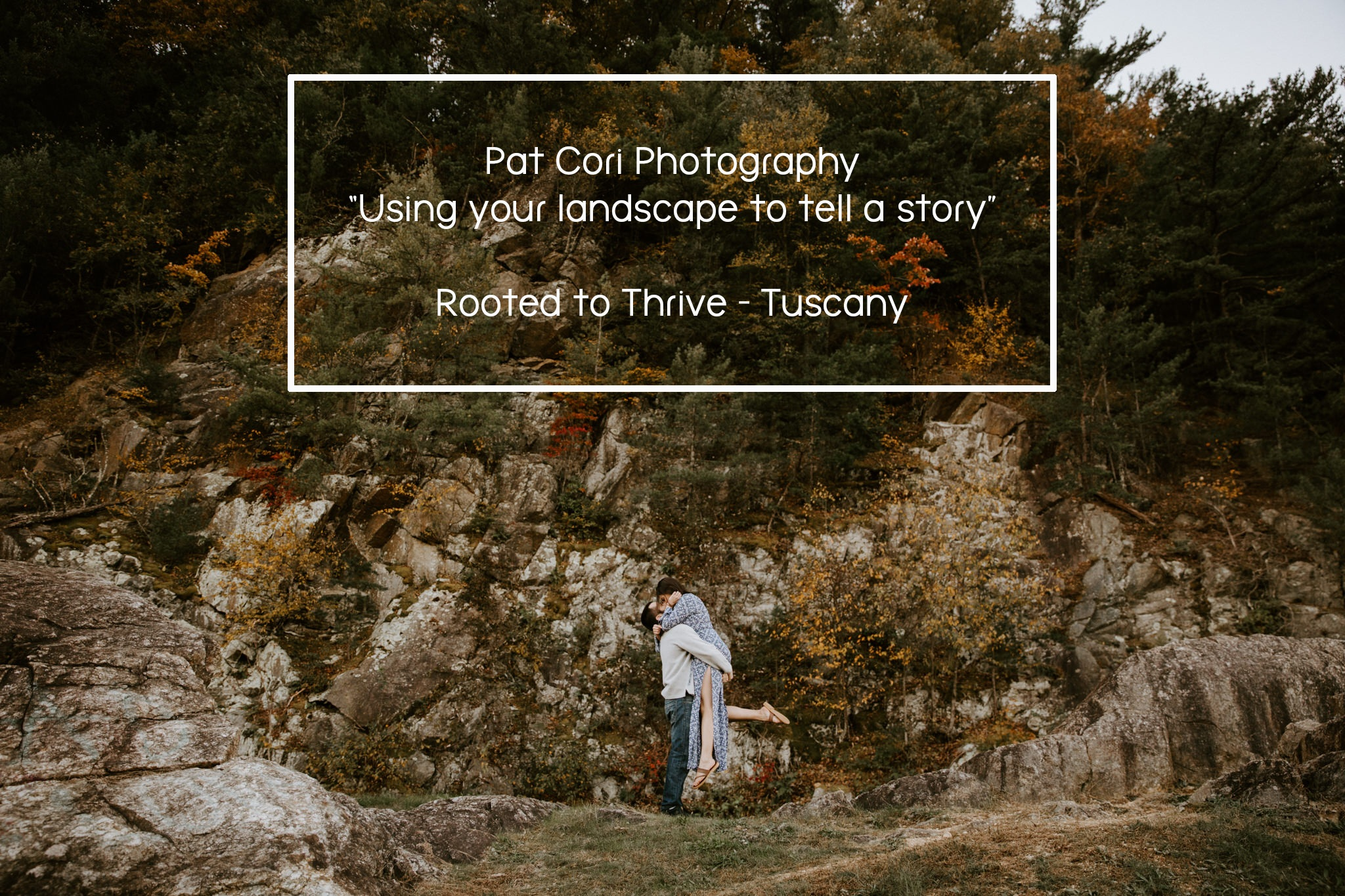 Pat Cori Photography - One of the things that Pat is most passionate about is using the landscapes in couple's portraiture. If you are looking for an introduction on how to do so, here is a sneak peek of how she shoots and the process of how she gets her epic shots.